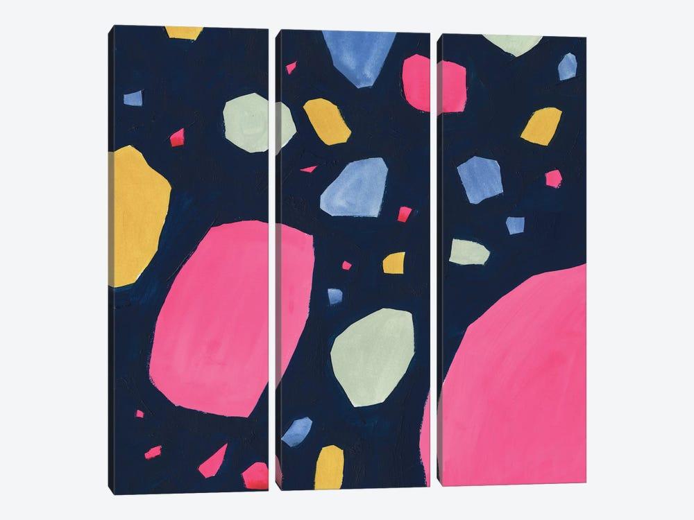 Bright Terrazzo I by Victoria Borges 3-piece Art Print