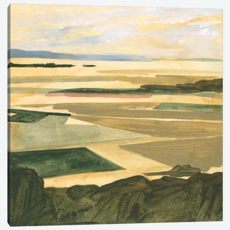 Golden Farmland I Canvas Print #VBO827} by Victoria Borges Canvas Wall Art