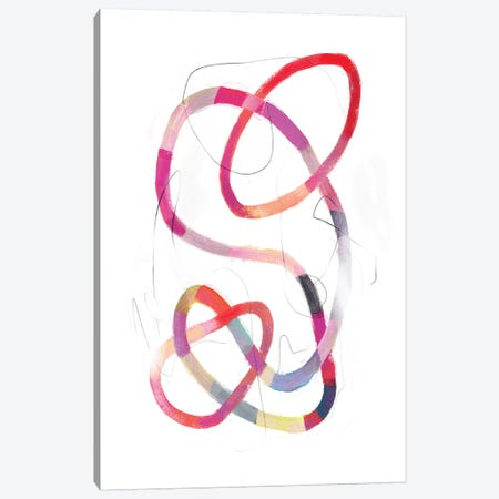 Polychrome Tangle II Canvas Print #VBO82} by Victoria Borges Art Print