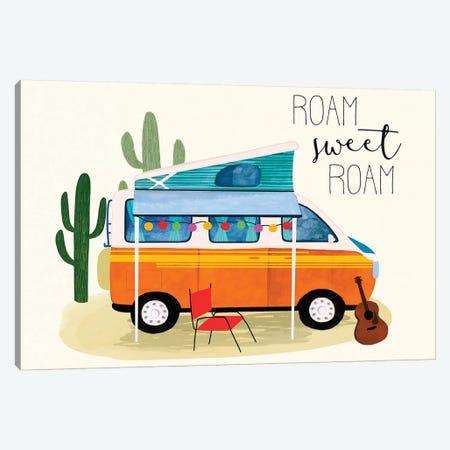 Roam Sweet Roam II Canvas Print #VBO838} by Victoria Borges Canvas Art