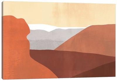 Sedona Colorblock I Canvas Art Print