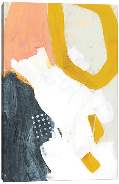 Seismic I Canvas Art Print