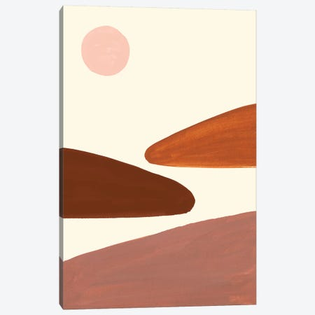 Simple Scape I Canvas Print #VBO851} by Victoria Borges Canvas Artwork