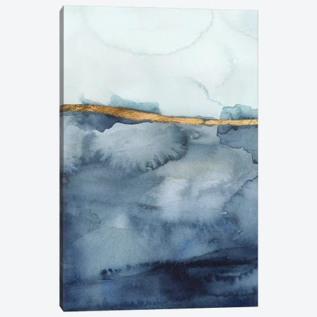 Coastal Horizon I 3-Piece Canvas #VBO885} by Victoria Borges Canvas Wall Art