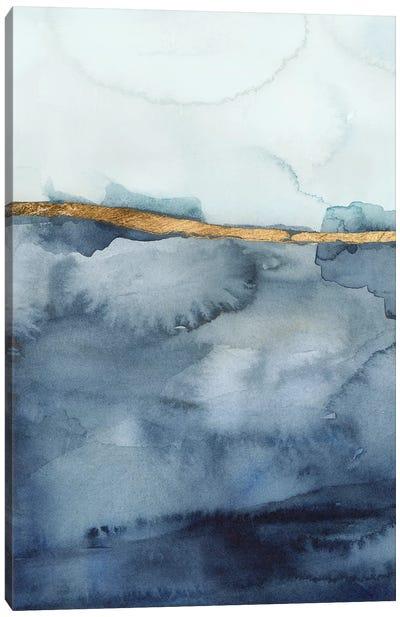 Coastal Horizon I Canvas Art Print