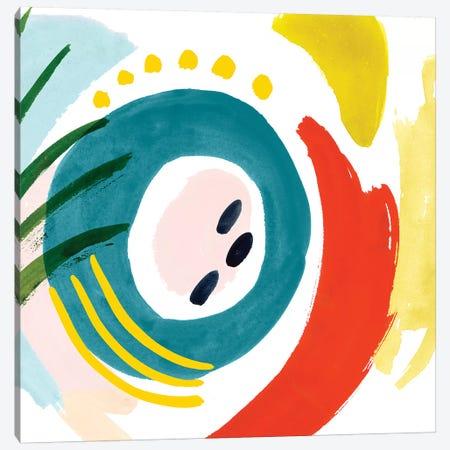 Color Caper I Canvas Print #VBO889} by Victoria Borges Canvas Print