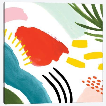 Color Caper II Canvas Print #VBO890} by Victoria Borges Canvas Art