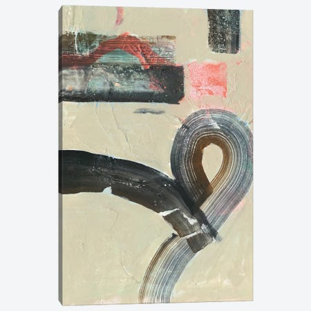 Striate I Canvas Print #VBO89} by Victoria Borges Art Print