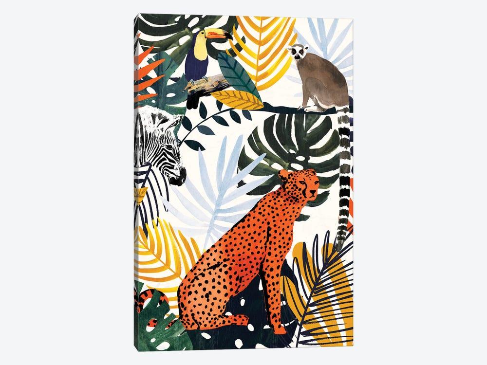 Jungle Jumble I by Victoria Borges 1-piece Canvas Print