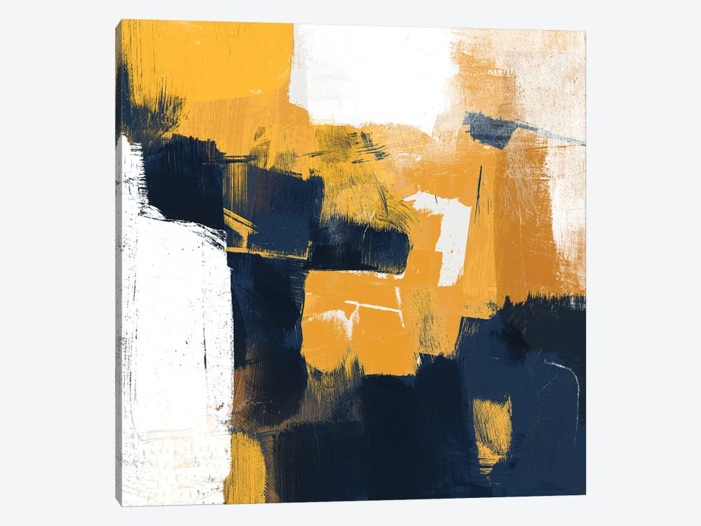 Navy & Gold I by Victoria Borges 1-piece Canvas Artwork
