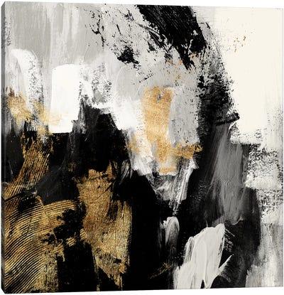 Neutral Gold Collage I Canvas Art Print