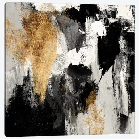 Neutral Gold Collage IV Canvas Print #VBO921} by Victoria Borges Canvas Wall Art