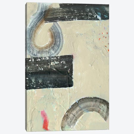 Striate IV Canvas Print #VBO92} by Victoria Borges Canvas Art