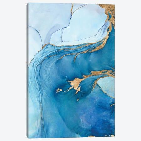Sea Whirl I Canvas Print #VBO930} by Victoria Borges Canvas Art Print