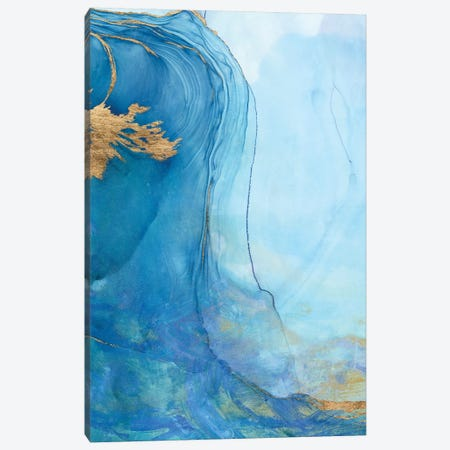 Sea Whirl II Canvas Print #VBO931} by Victoria Borges Canvas Print