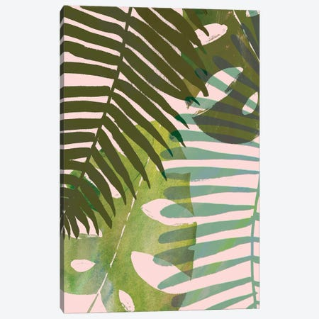Tropical Tangle I Canvas Print #VBO99} by Victoria Borges Canvas Wall Art