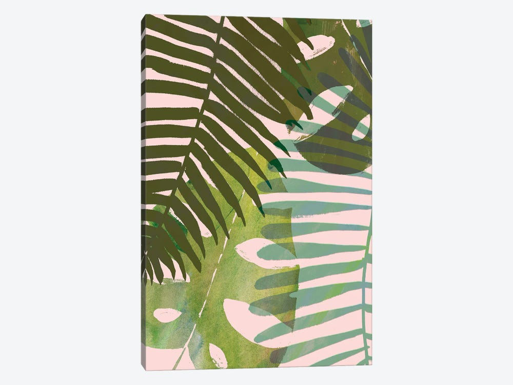 Tropical Tangle I by Victoria Borges 1-piece Canvas Print
