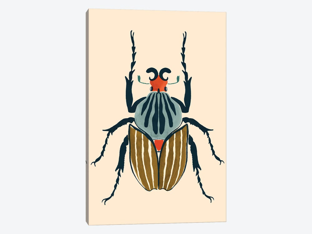 Beetle Bug I by Victoria Barnes 1-piece Canvas Wall Art