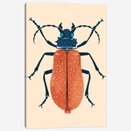 Beetle Bug III Canvas Print #VBR103} by Victoria Barnes Canvas Wall Art