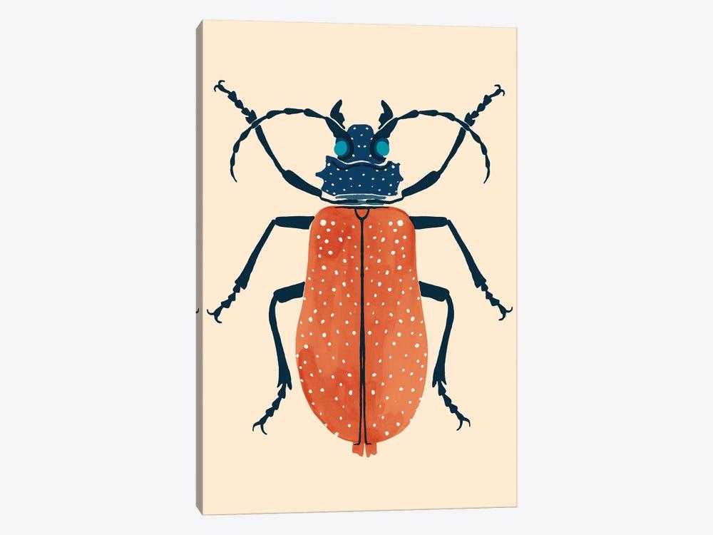 Beetle Bug III by Victoria Barnes 1-piece Canvas Artwork