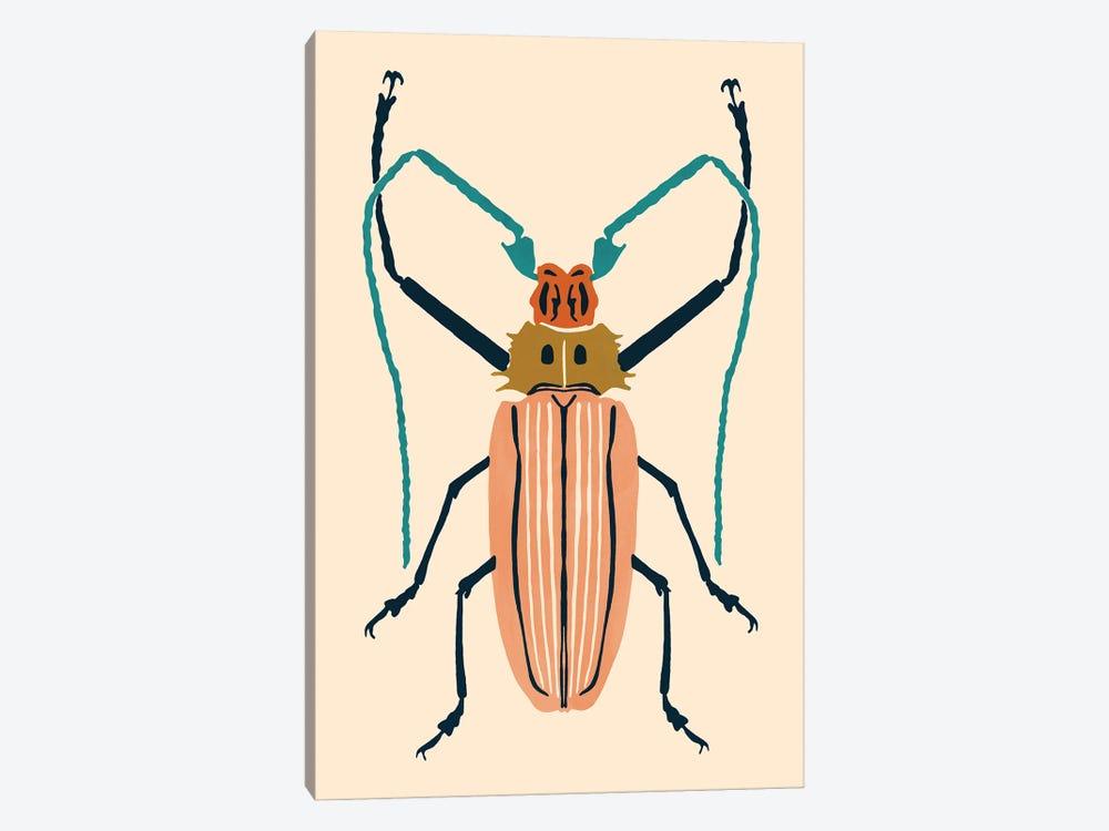 Beetle Bug IV by Victoria Barnes 1-piece Canvas Print