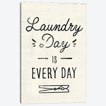 Laundry Room II Canvas Print #VBR114} by Victoria Barnes Canvas Art