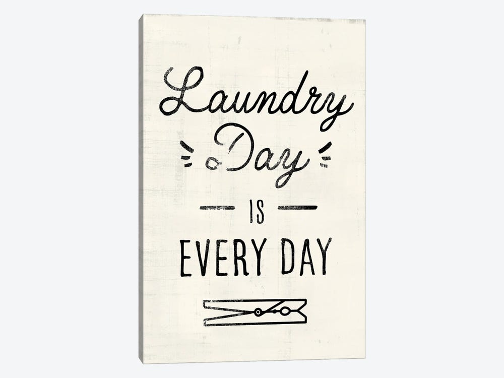Laundry Room II by Victoria Barnes 1-piece Canvas Art