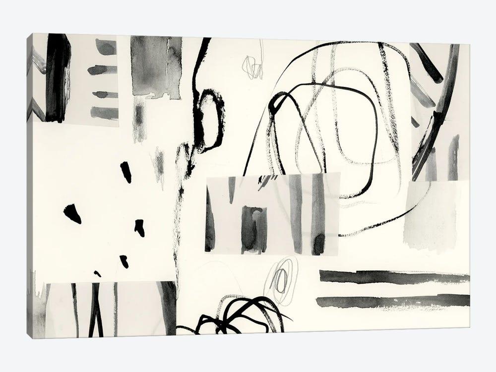 Neutral Patchwork I by Victoria Barnes 1-piece Canvas Artwork