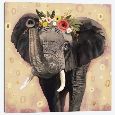 Klimt Elephant II Canvas Print #VBR12} by Victoria Barnes Canvas Print