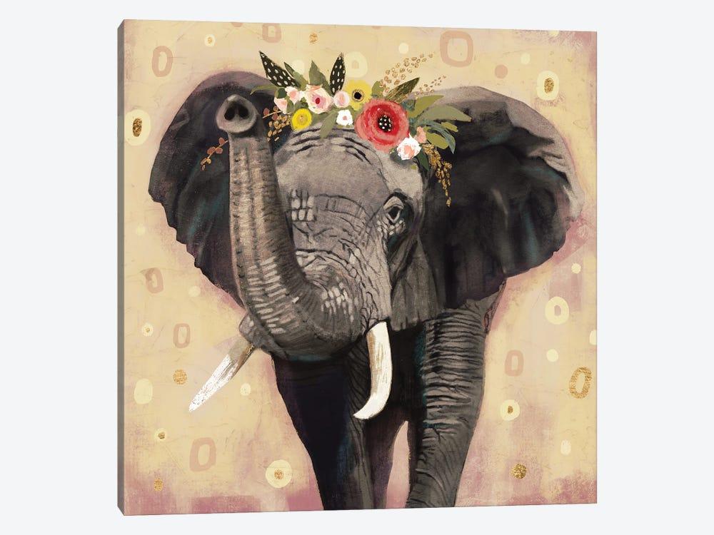 Klimt Elephant Ii Canvas Art Print By Victoria Barnes Icanvas