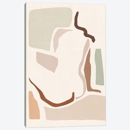 Lounge Abstract I Canvas Print #VBR171} by Victoria Barnes Art Print