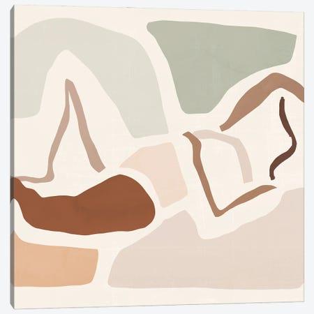 Lounge Abstract III Canvas Print #VBR173} by Victoria Barnes Canvas Art Print