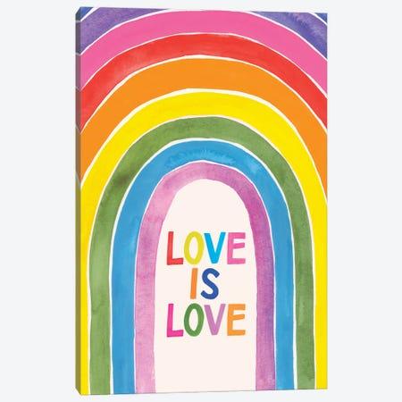 Love Loudly IV Canvas Print #VBR178} by Victoria Barnes Canvas Print