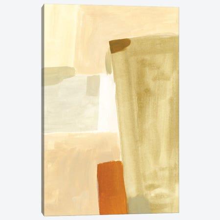 Neutral Block I Canvas Print #VBR187} by Victoria Barnes Art Print