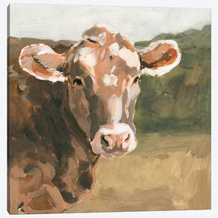 On the Pasture I Canvas Print #VBR188} by Victoria Barnes Canvas Art