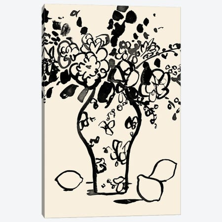 Matisse's Muse Still Life I Canvas Print #VBR248} by Victoria Barnes Art Print