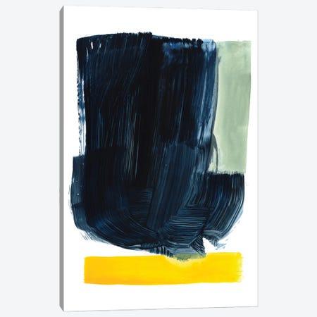 Navy Blue Field II Canvas Print #VBR250} by Victoria Barnes Canvas Artwork