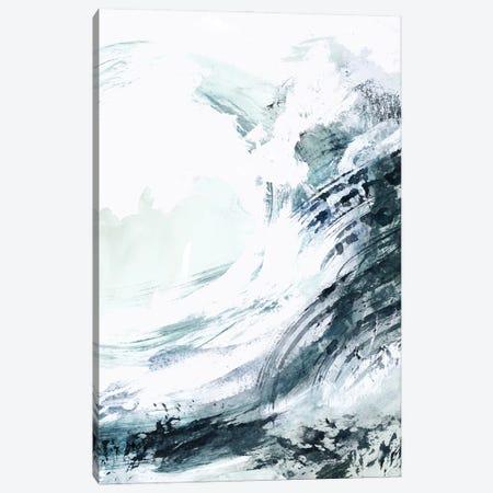 Blue Crest I Canvas Print #VBR39} by Victoria Barnes Canvas Art Print