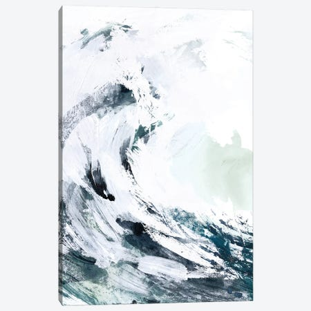 Blue Crest II Canvas Print #VBR40} by Victoria Barnes Canvas Artwork