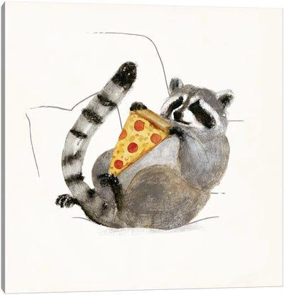 Rascally Raccoon II Canvas Art Print