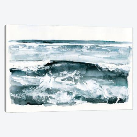 Choppy Surf II Canvas Print #VBR4} by Victoria Barnes Canvas Art