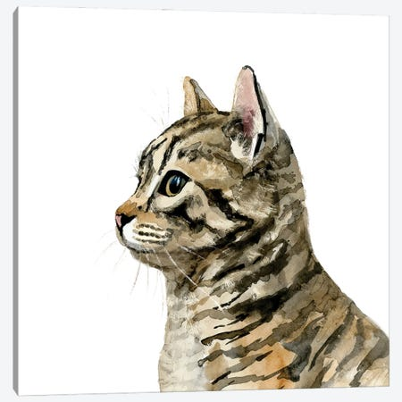 Pet Profile III Canvas Print #VBR57} by Victoria Barnes Canvas Artwork