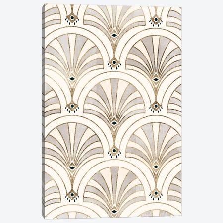 Deco Patterning II Canvas Print #VBR64} by Victoria Barnes Canvas Art Print