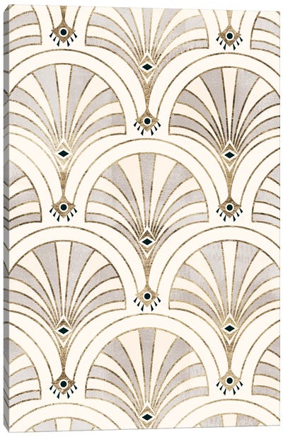 Deco Patterning II Canvas Art Print