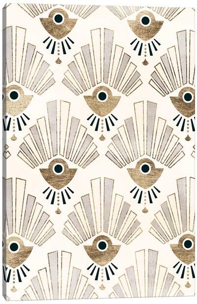 Deco Patterning III Canvas Art Print