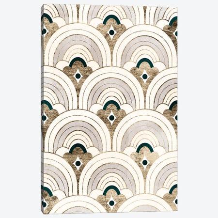 Deco Patterning IV Canvas Print #VBR66} by Victoria Barnes Canvas Art Print