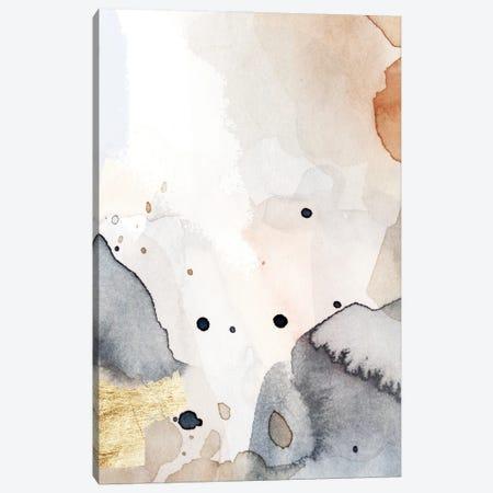 Indigo Blush and Gold II Canvas Print #VBR68} by Victoria Barnes Canvas Wall Art