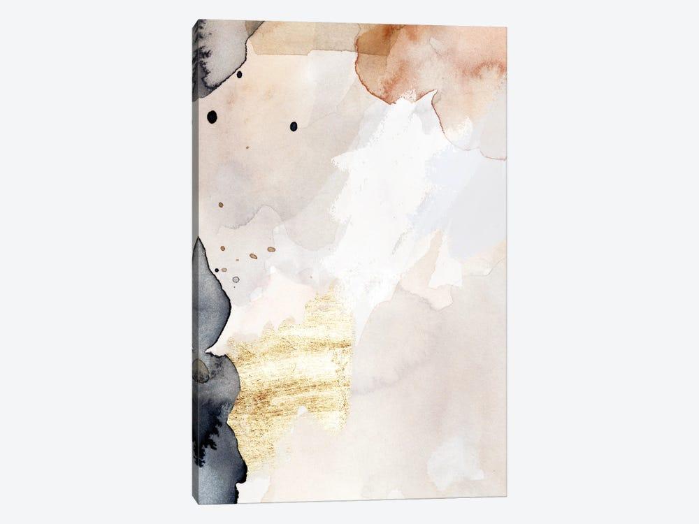 Indigo Blush and Gold III by Victoria Barnes 1-piece Canvas Art