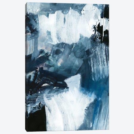 Composition in Blue II Canvas Print #VBR6} by Victoria Barnes Canvas Artwork