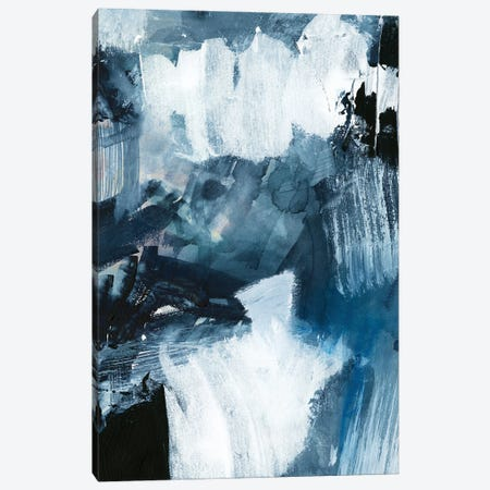 Composition in Blue II Canvas Print #VBR6} by Victoria Barnes Canvas Artwork